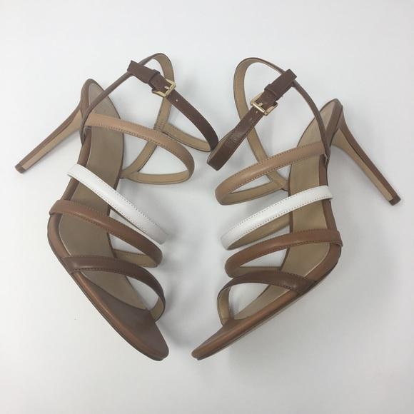 1ce58a89925 Michael Kors Nantucket Brown Heels Various Sizes